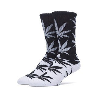 Skarpety Huf Color Block Plantlife Crew Sock black / white