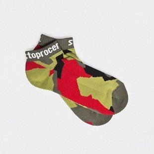 Skarpety Stopprocent SKK Camu green / red