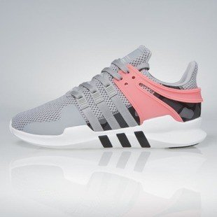 Sneakers buty Adidas Originals Equipment Support ADV medium grey / heather solid grey / core black / turbo BB2792