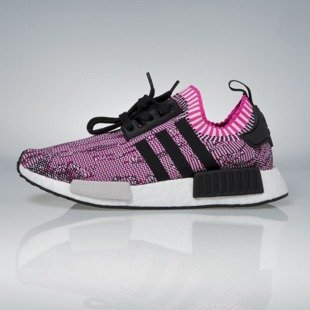 Sneakers buty Adidas Originals NMD_R1 PK WMNS shock pink / core black / running white BB2363