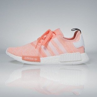 Sneakers buty Adidas Originals NMD_R1 WMNS sun glow / running white BY3034