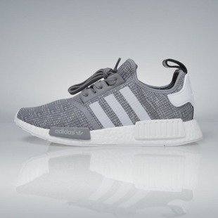 Sneakers buty Adidas Originals NMD_R1 dark grey heather solid grey / footwear white BB2886