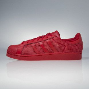 Sneakers buty Adidas Originals Superstar red (B42621)
