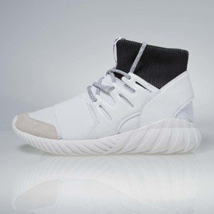 Sneakers buty Adidas Originals Tubular DOOM white / white - black (BA7554)