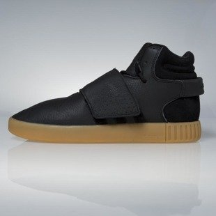 Sneakers buty Adidas Originals Tubular Invader Strap core black / gum / footwear white BY3630