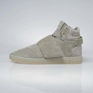 Sneakers buty Adidas Originals Tubular Invader Strap tracar / sesame BB8391