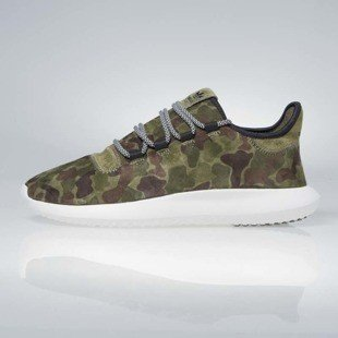 Sneakers buty Adidas Originals Tubular Shadow color olive cargo / vintage white / core BB8818