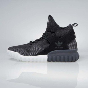 Sneakers buty Adidas Originals Tubular X Primeknit core Black / dark shale / charcoal solid grey BB2379
