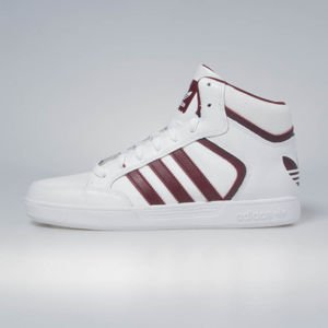 Sneakers buty Adidas Originals Varial Mid footwear white / collegiate burgundy / footwear white BY4060