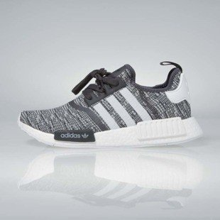 Sneakers buty Adidas Originals WMNS NMD_R1 utility black / footwear white / medium grey BY3035