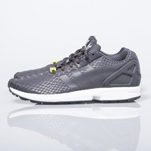 Sneakers buty Adidas Originals ZX Flux Techfit shadow black / white (S75488)