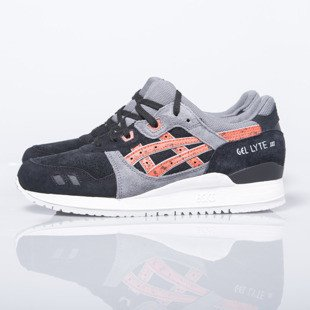 Sneakers buty Asics Gel-Lyte III black/chili (H6B2L-9024)