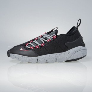 Sneakers buty Nike Air Footscape NM black / wolf grey 852629-001