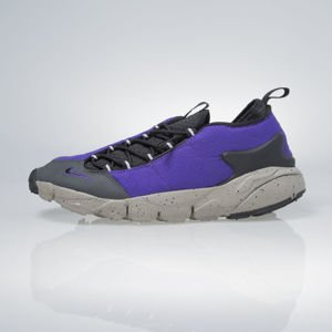 Sneakers buty Nike Air Footscape NM court purple / black-light taupe 852629-500