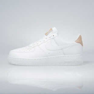 Sneakers buty Nike Air Force 1 '07 LV8 white / white-vachetta tan 718152-108