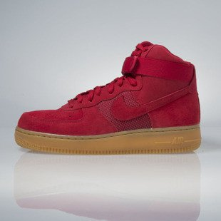 Sneakers buty Nike Air Force 1 High '07 LV8 gym red / gym red 806403-601