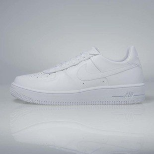 Sneakers buty Nike Air Force 1 Ultraforce LTHR white / white - white 845052-100