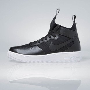 Sneakers buty Nike Air Force 1 Ultraforce Mid black / black-white 864014-001