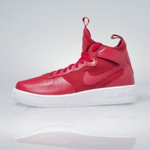 Sneakers buty Nike Air Force 1 Ultraforce Mid gym red / gym red-white 864014-600