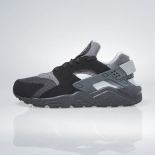 Sneakers buty Nike Air Huarache Run Se black / wolf grey-wolf grey 852628-001