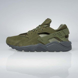 Sneakers buty Nike Air Huarache Run legion green / legion green 852628-301