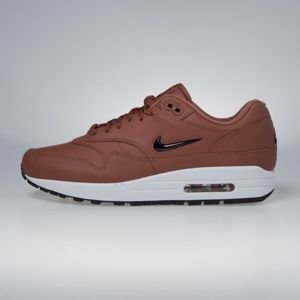 Sneakers buty Nike Air Max 1 Premium SC dusty peach / black- white - black 918354-200