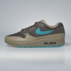 Sneakers buty Nike Air Max 1 Premium ridgerock / turbo green - khaki 875844-200