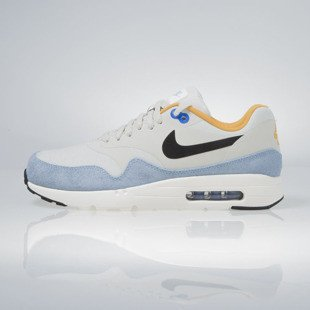 Sneakers buty Nike Air Max 1 Ultra Essential light bone / black-bluecap-sail 819476-009