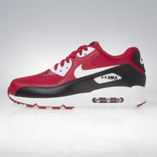 Sneakers buty Nike Air Max 90 Essential gym red / white - black - white 537384-610