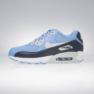 Sneakers buty Nike Air Max 90 Essential university blue / navy / grey / white 537384-416
