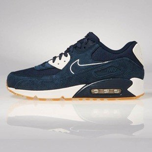 Sneakers buty Nike Air Max 90 Premium armory navy / armory navy-sail 700155-403