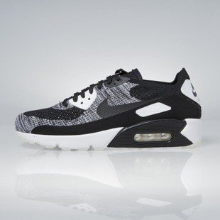 Sneakers buty Nike Air Max 90 Ultra 2.0 Flyknit black / black-white 875943-001