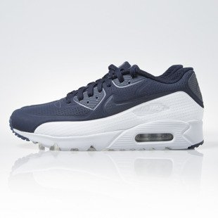 Sneakers buty Nike Air Max 90 Ultra Moire obsidian / obsidian-pr platinum (819477-404)