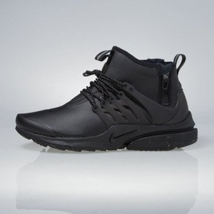 Sneakers buty Nike Air Presto Mid Utility black / black-volt-dark grey 859524-003