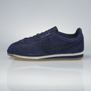 Sneakers buty Nike Classic Cortez Leather Premium midnight navy 861677-400