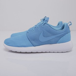 Sneakers buty Nike Roshe Run blue lagoon / blue lagoon - light blue lacquer - white  (511881-447)