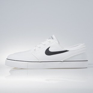 Sneakers buty Nike SB Zoom Stefan Janoski CNVS summit white / black (615957-100)