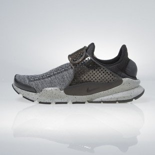 Sneakers buty Nike Sock Dart Se Premium black white-university red 859553-001