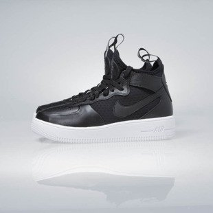 Sneakers buty Nike WMNS Air Force 1 Ultraforce Mid black / black-white 864025-001