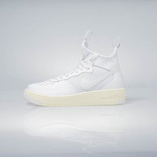 Sneakers buty Nike WMNS Air Force 1 Ultraforce Mid summit white / summit white 864025-100