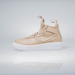Sneakers buty Nike WMNS Air Force 1 Ultraforce Mid vachetta tan / vachetta tan 864025-200