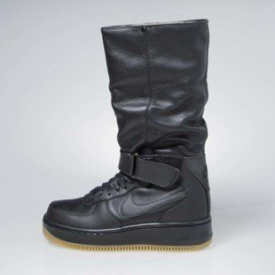 Sneakers buty Nike WMNS Air Force 1 Upstep Warrior black (860522-001)