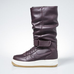 Sneakers buty Nike WMNS Air Force 1 Upstep Warrior burgundy (860522-600)