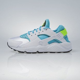 Sneakers buty Nike WMNS Air Huarache Run white / gamma blue-elctrc green (634835-109)
