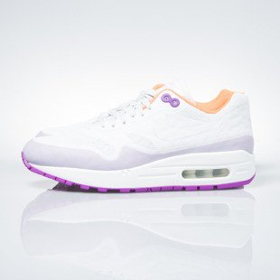 Sneakers buty Nike WMNS Air Max 1 Ns off white / off white-hyper violet (844982-101)