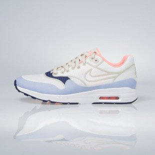 Sneakers buty Nike WMNS Air Max 1 Ultra 2.0 SI sail / white / lava glow / oatmeal 881103-102