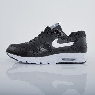 Sneakers buty Nike WMNS Air Max 1 Ultra Essentials black / white - stealth - pure platinum (704993-007)