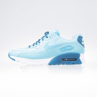 Sneakers buty Nike WMNS Air Max 90 Ultra Essential gamma blue / gmm blue-grn abyss (724981-403)