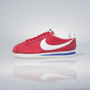 Sneakers buty Nike WMNS Classic Cortez Nylon Premium university red / sail-old royal 882258-600