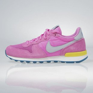 Sneakers buty Nike WMNS Internationalist red vlt / wolf grey-brght ctrn-grn 629684-500